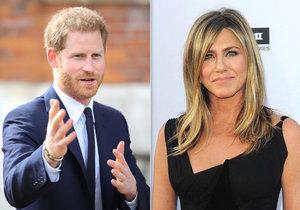 Tajemství prince Harryho: Zběsile uháněl Rachel z Přátel!