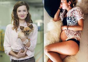 Hvězda Ordinace Marika Šoposká čeká druhé dítě! Vrátí se do seriálu?
