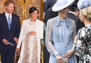 Odbornice vysvětlila držení bříška vévodkyně! Opičí se Kate po Meghan?