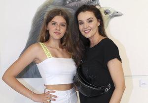 Iva Kubelková s dcerou Natálií