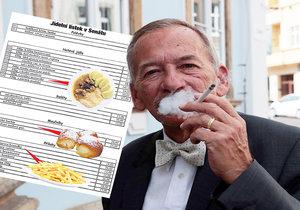 """Jídlo v Senátu za pár šupů jako ve Sněmovně? """"Nejsme gurmáni,"""" hájí Kubera laciné menu"""