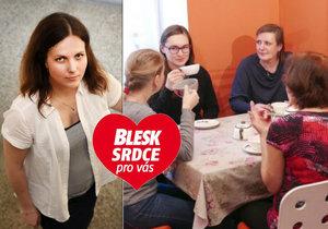 Šárka Slavíková (40) z organizace Amelie: Mají rakovinu, ale vítají vás s úsměvem