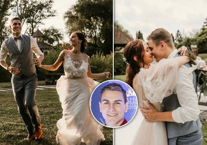 David Gránský se pochlubil krásnými fotkami ze svatby.