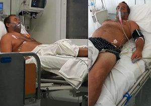 Čech čekal v Řecku po infarktu na operaci tři dny.