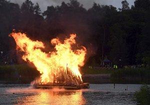Oslavy slunovratu ve Finsku (22. 6. 2019)