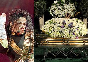 10 let od smrti Michaela Jacksona: Zabetonován ve zlaté rakvi!