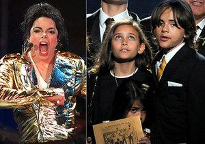 10. výročí od smrti Michaela Jacksona: Nikdo z dětí krále popu se nepotatil.