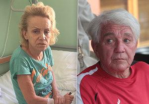 Krampolová po měsíci na lůžku: Odhalili zničené orgány! Nechci ji teď doma, říká Jiří