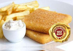 Hranolky nebo smažený sýr s tatarkou Češi milují. Jak dopadly zkoumané výrobky ve spotřebitelském testu Blesku?
