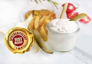 Oblíbené tatarské omáčky jsme podrobili testu v laboratoři a ochutnali je i spotřebitelé.