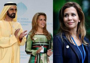 Dubajská princezna utekla miliardáři: Skrývá se i s miliardou korun kousek od českých hranic