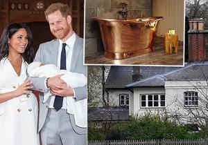 Co dalšího mají doma Harry a Meghan od daňových poplatníků? Vanu za desetitisíce