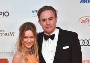 Lisa Martinek s manželem Giuliem Ricciarellim