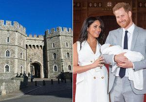 Britové zuří! Meghan a Harry tajně pokřtí syna o víkendu