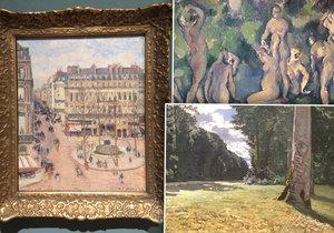 V Praze je k vidění nevšední sbírka nejvýznamnějších francouzských malířů 19. století.