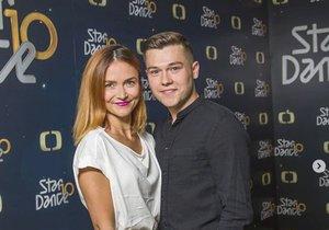 Radka Třeštíková a Tomáš Vořechovský ve StarDance