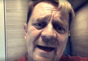 Petr Čtvrtníček natočil kolegům vzkaz