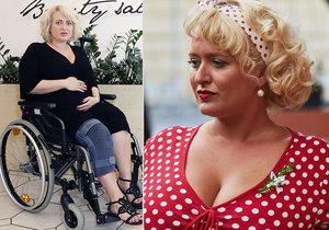 Těhotná Miluška Bittnerová na vozíku: Další komplikace s porodem!