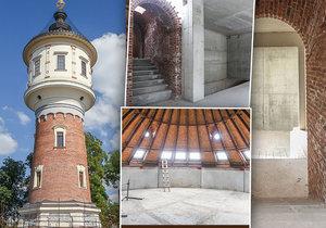 V pražské Libni je na prodej vodárenská věž. Opravovali ji 12 let a vyjde na 95 milionů.