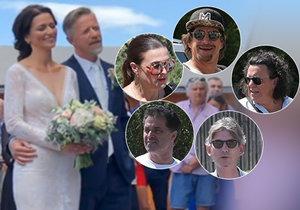 Langmajer a Gondíková jsou svoji! V.I.P. obřadu přihlíželo 300 celebrit!