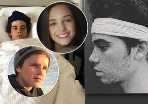 Hollywoodský miláček náhle zemřel (†20): Mezi jeho fanoušky patřil Beckham i Charlotte Gottová!