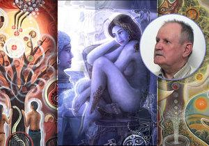 Václav Mach-Koláčný si vyvinul nevšední umělecký styl, kterým prezentuje originální českou tvorbu i v zahraničí. Původně mu přitom nebylo souzeno stát se malířem kvůli jeho rodinnému původu.