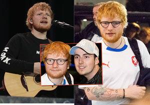 Ed Sheeran odletěl z Prahy