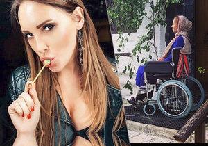 Modelka svědčící v procesu s fotbalisty vypadla ve Špindlu z balkonu: Policie případ uzavřela