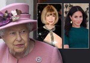 Tohle královna nevydýchá! Meghan chystá tajný projekt s Annou Wintourovou!