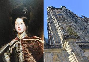 Ačkoliv nikdy ve skutečnosti na český trůn neusedl, nechal se Ferdinand IV. v Praze korunovat na českého krále. S jednou drobnou odlišností oproti ustáleným zvyklostem.