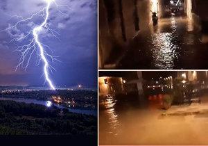 Blesky udeřily na Chorvatsko. Objevila se dokonce tsunami.