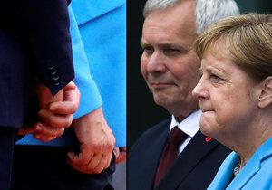 Merkelovou postihl další třes