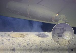 Z potopené ponorky uniká radioaktivní polonium.