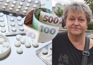 Jíst, či brát léky? Tuto otázku si nemocní senioři kladou často.