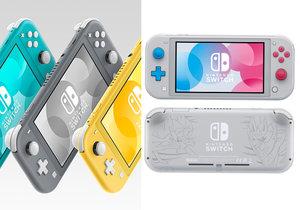Nová konzole Nintendo Switch Lite