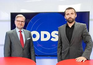 Šéf ODS Fiala: Babiš je slabý premiér, já bych byl silnější.