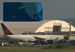 Při silné turbulenci kanadského letadla se zranilo 35 lidí.