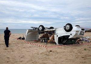 V Řecku při bouři zemřeli dva členové rodiny z Jihlavy. Jejich syn leží s několika zlomeninami v nemocnici