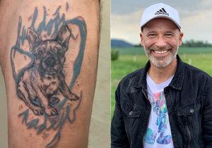 Moderátor Honza Musil šokoval neobvyklým tetováním! Udělal jsem to kvůli charitě, říká