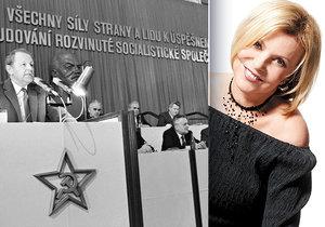 30 let od slavného projevu Milouše Jakeše: Tehdy jsem byla bez příjmů, vzpomíná Zagorová
