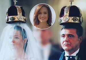 Klára Doležalová je s manželem 18 let.