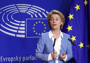 První žena v čele Evropské komise - Ursula von der Leyenová