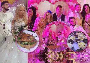 Ve slovenské Nitře se konala veselka roku. Na svatbu Viktora a Jennifer dorazily stovky Romů.