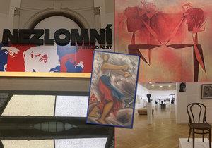 Nejen originální dopis Franze Kafky či obrazy Josefa Čapka a Toyen: Výstava Nezlomní představuje v Obecním domě jedinečná díla československého umění v letech 1918–1989.