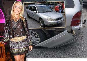 """SuperStar Balogová """"zrušila"""" svému otci auto! Kvůli dlouhému čekání na policii naštvala fanoušky."""