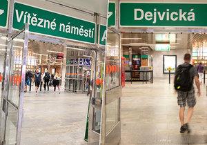 Dočkáme se v budoucnu změn názvů stanic metra? Takto by to mohlo vypadat v praxi.