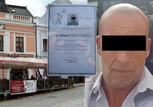 Po zastřelení manželky v rychnovské restauraci: Parte s obžalobou vraha!