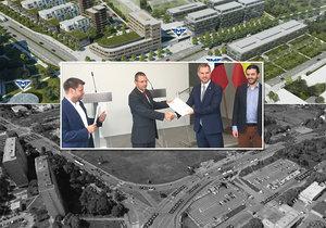 Praha se domluvila s vlastníky pozemků v Krči, stavba metra D může pokračovat.