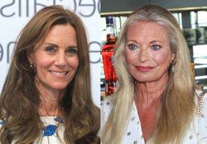 Kdo poznal vévodkyni Kate a Lucii Borhyovou?
