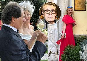 Vdova po režisérovi Formanovi (†86) Martina je nerada sama: Objíždí svatby známých!